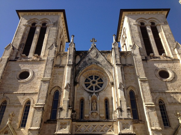 San Fernando Cathedral in San Antonio, TX - Oldest cathedral in Texas